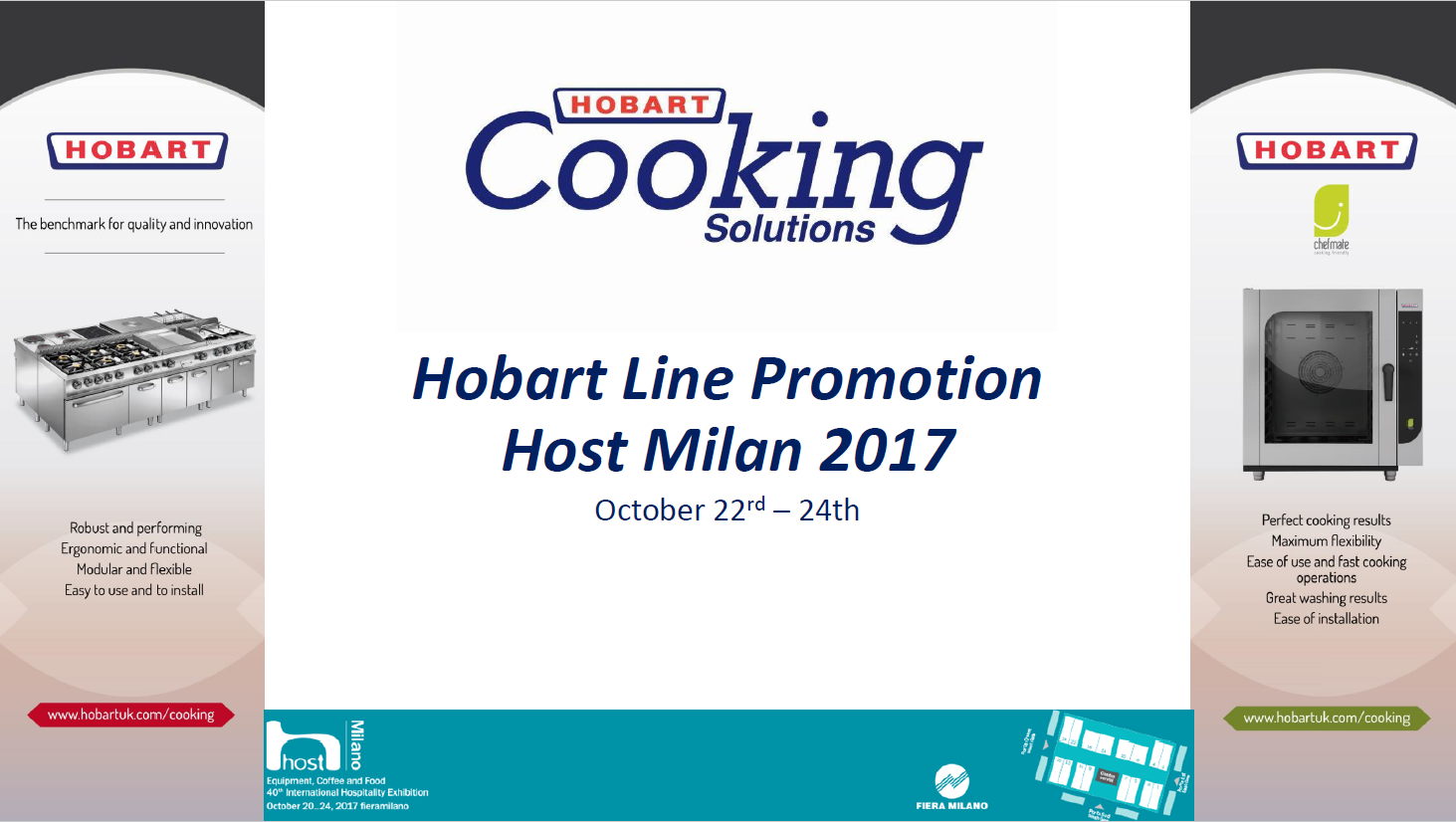 Hobart Cooking Solutions Partner Promotion