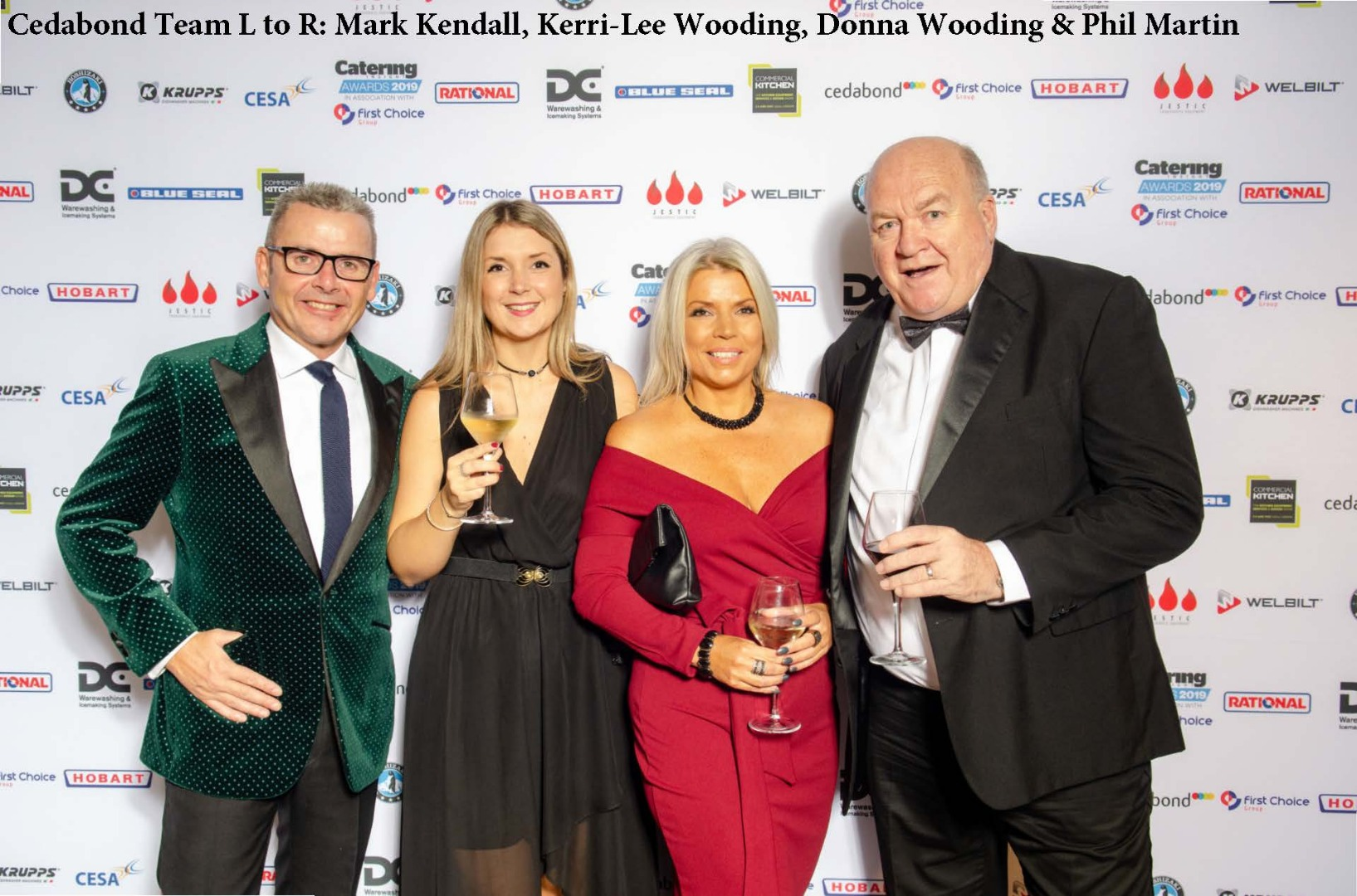 Cedabond Family win big at the Catering Insight Awards 2019