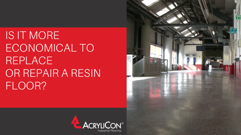 Is It More Economical To Replace Or Repair A Resin Floor?